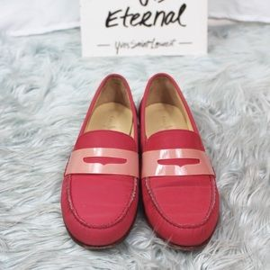 Cole Haan Nike Air Monroe Pink Penny Loafers